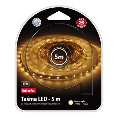 Taśma LED AJE-LED STRIPE 2700K IP20 ACTIVEJET