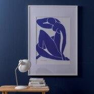 Ramka na zdjęcia MILO 30 x 40 cm biała MDF INSPIRE