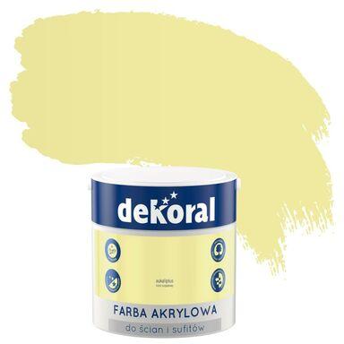 Farba wewnętrzna KOLORY, KTÓRE INSPIRUJĄ 2,5 l Eukaliptus DEKORAL