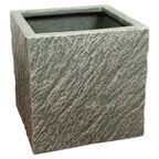 Doniczka betonowa 37 x 37 cm grafitowa MPSS KWADRAT