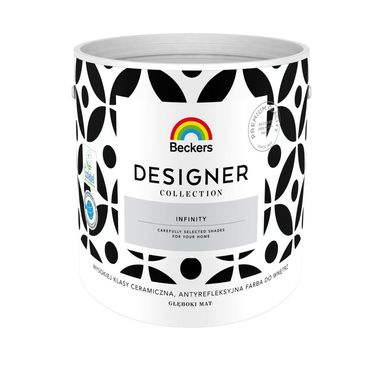 Farba wewnętrzna DESIGNER COLLECTION 2.5 l Infinity BECKERS
