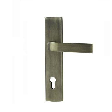 Klamka do drzwi zewnętrznych CESARE Z RACZKA PODNOSZONĄ DO GÓRY 90 SCHAFFNER