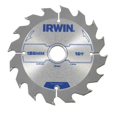 Tarcza do pilarki tarczowej PRO125X16TX20/16 IRWIN