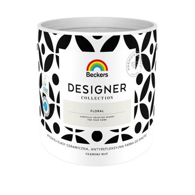 Farba wewnętrzna DESIGNER COLLECTION 2.5 l Floral BECKERS