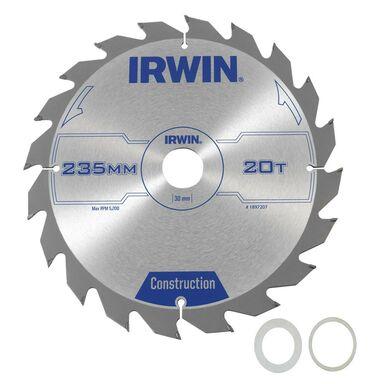 Tarcza do pilarki tarczowej PRO235X30TX30/25  235 mm zęby: 30 szt. IRWIN