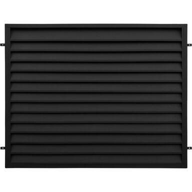 Przęsło ogrodzeniowe KRETA 200 x 150 cm POLBRAM czarne