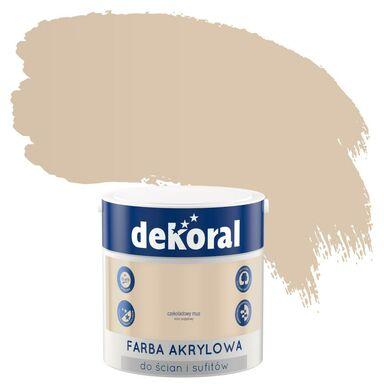 Farba wewnętrzna do ścian i sufitów KOLORY, KTÓRE INSPIRUJĄ 2.5 l Czekoladowy mus DEKORAL
