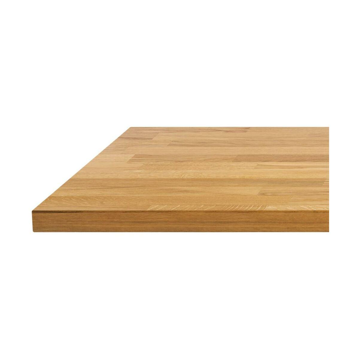 Blat Kuchenny Fornirowany Dab Premium Biuro Styl Blaty Drewniane W Atrakcyjnej Cenie W Sklepach Leroy Merlin
