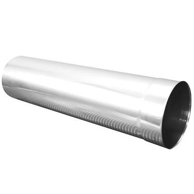 Rura odprowadzająca NIERDZEWNA 130 mm SPIROFLEX