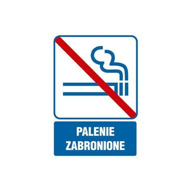Znak informacyjny PALENIE ZABRONIONE 14.8 x 21 cm
