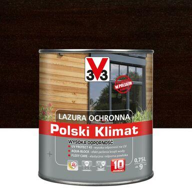 Lazura do drewna Polski klimat 0.75 l Palisander V33