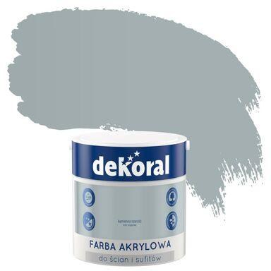 Farba wewnętrzna do ścian i sufitów KOLORY, KTÓRE INSPIRUJĄ 2.5 l Kamienna szarość DEKORAL