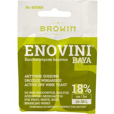 Drożdże winiarskie suszone 7 g ENOVINI BROWIN