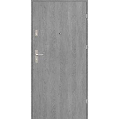 Drzwi wejściowe CASTELLO Grafit 90 Prawe EVOLUTION