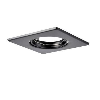 Oprawa stropowa OPIN czarna kwadratowa POLUX