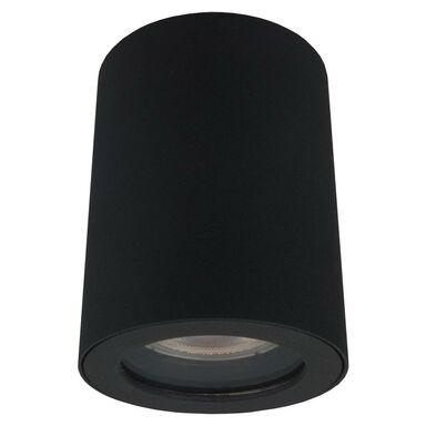 Oprawa stropowa natynkowa FARO IP65 czarna okrągła GU10 LIGHT PRESTIGE