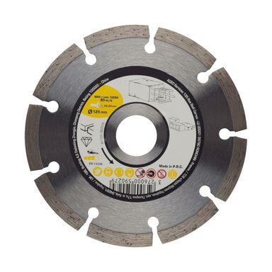 Tarcza diamentowa pełna DO BETONU 125X2.1X22.2 mm
