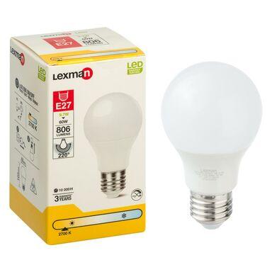 Żarówka LED E27 (230 V) 9.7 W 806 lm Ciepła biel LEXMAN