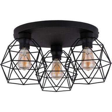 Lampa sufitowa GALAXY czarna 3 x E27 TK LIGHTING