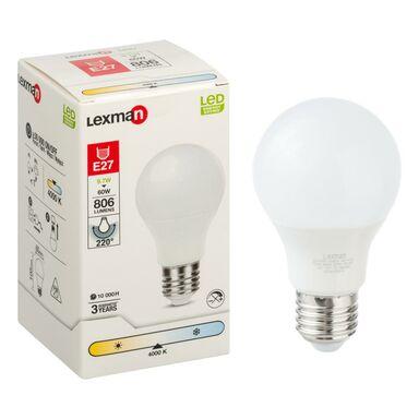 Żarówka LED E27 (230 V) 9.7 W 806 lm Neutralna biel LEXMAN