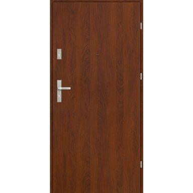 Drzwi wejściowe CASTELLO Orzech 90 Prawe EVOLUTION
