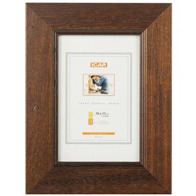 Ramka na zdjęcia KORA 10 x 15 cm brązowa drewniana