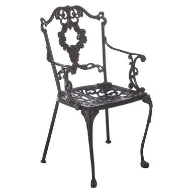 Krzesło ogrodowe ROMANTICA NERO VEGA