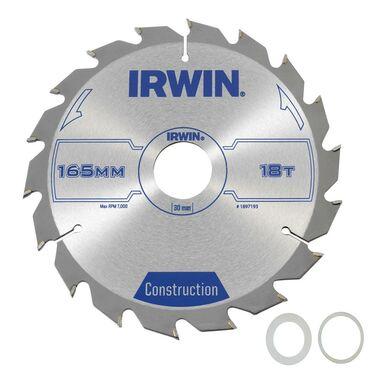 Tarcza do pilarki tarczowej PRO165X18TX30/20 IRWIN