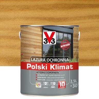Lazura do drewna Polski klimat 2.5 l Bezbarwny V33