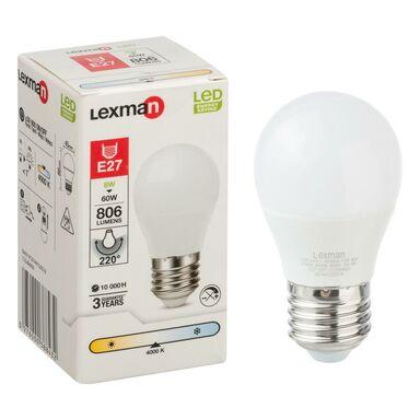 Żarówka LED E27 (230 V) 8 W 806 lm Neutralny LEXMAN