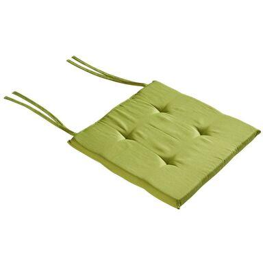 Poduszka na krzesło ELEMA zielona 40 x 40 x 2 cm INSPIRE