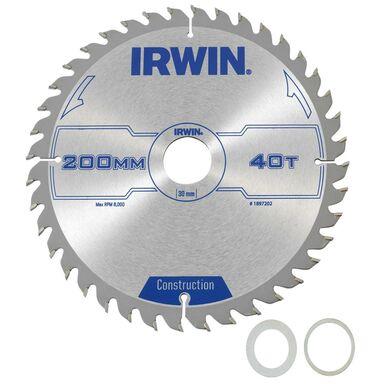 Tarcza do pilarki tarczowej PRO200X40TX30/25/ śr. 200 mm  40 z IRWIN