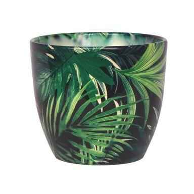 Osłonka ceramiczna 14.5 cm zielona WENUS