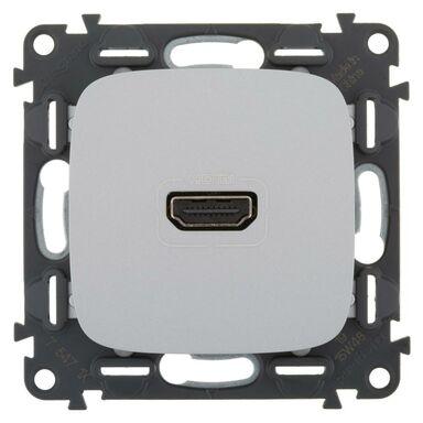 Gniazdo HDMI VALENA ALLURE  aluminium  LEGRAND