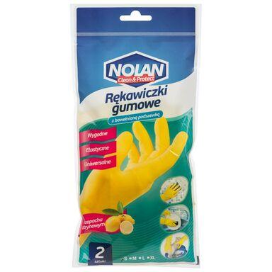 Rękawice ochronne r. S gumowe NOLAN