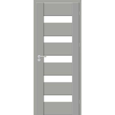 Skrzydło drzwiowe PASTO Szary mat 80 Prawe ARTENS