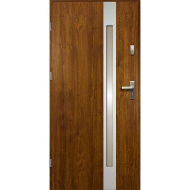 Drzwi wejściowe TEMIDAS Złoty dąb 80 Lewe