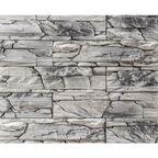 Kamień dekoracyjny Lemnos biało-szary 35 x 10 cm STEINBLAU