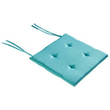 Poduszka na krzesło ELEMA miętowa 40 x 40 x 2 cm INSPIRE