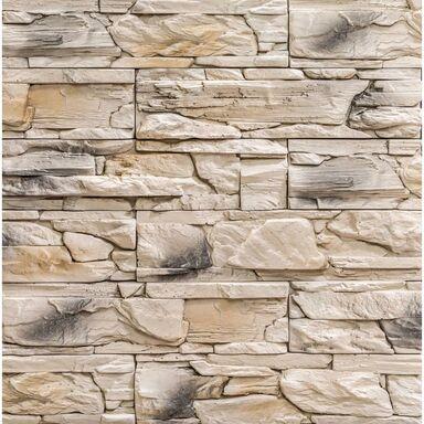 Kamień dekoracyjny betonowy Lemnos beżowo-brązowy 0.46m2 Steinblau
