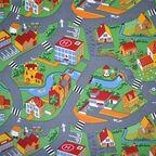 Wykładzina dywanowa Little Village zielona 4 m