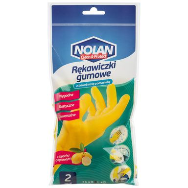 Rękawice ochronne gumowe r. L 2 szt. NOLAN