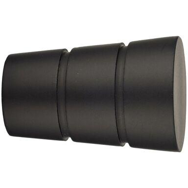 Końcówka do karnisza Walec czarny mat 19 mm Inspire