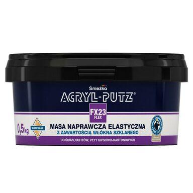 Masa naprawcza elastyczna ACRYL-PUTZ FX23 FLEX 0.5 kg ŚNIEŻKA