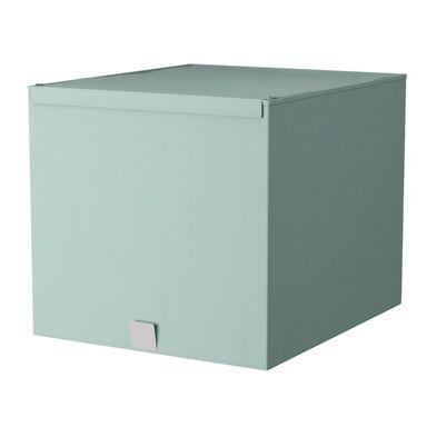 Pudełko Spaceo Home M laguna 49 L 36 x 42 x 33 cm Spaceo