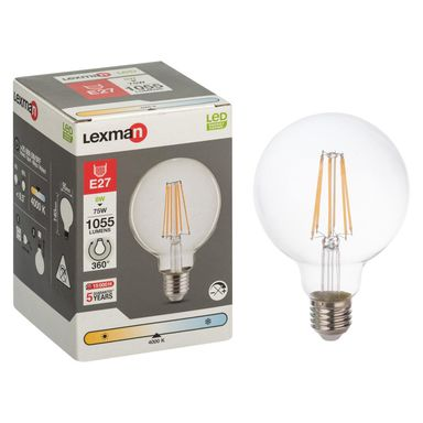 Żarówka dekoracyjna LED E27 (230 V) 8 W 1055 lm LEXMAN