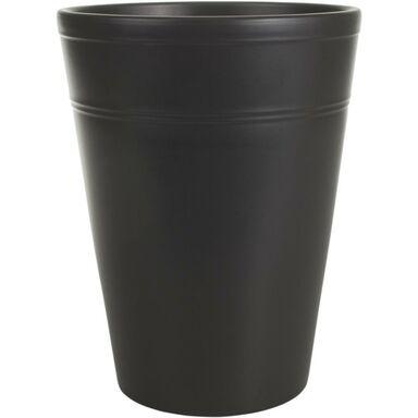 Osłonka do storczyka 13 cm ceramiczna antracytowa
