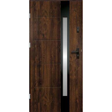 Drzwi wejściowe ARIADNA Orzech 80 Lewe