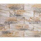 Kamień dekoracyjny PEROTE Kremowy 35 x 10 cm STEINBLAU