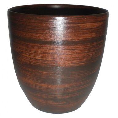 Doniczka ceramiczna 24 cm brązowa NOVA 4/R0723 EKO-CERAMIKA
